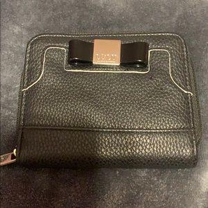 Small LULU black wallet
